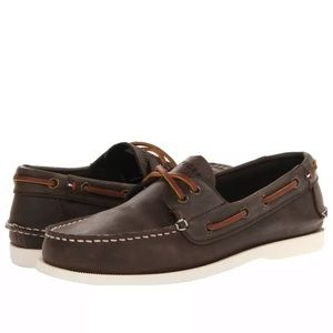 Tommy Hilfiger Mens Bowman leather loafers Size 12
